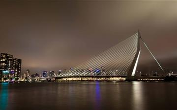 Erasmus Bridge MacBook Pro wallpaper