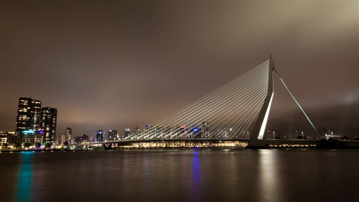 Erasmus Bridge Mac Wallpaper