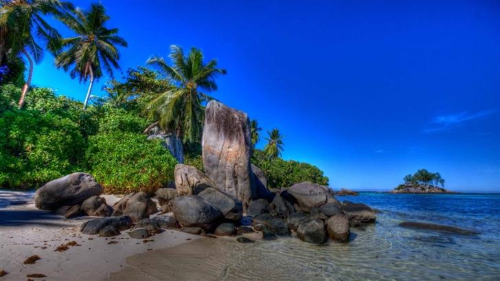 Seychelles Landscape Mac Wallpaper