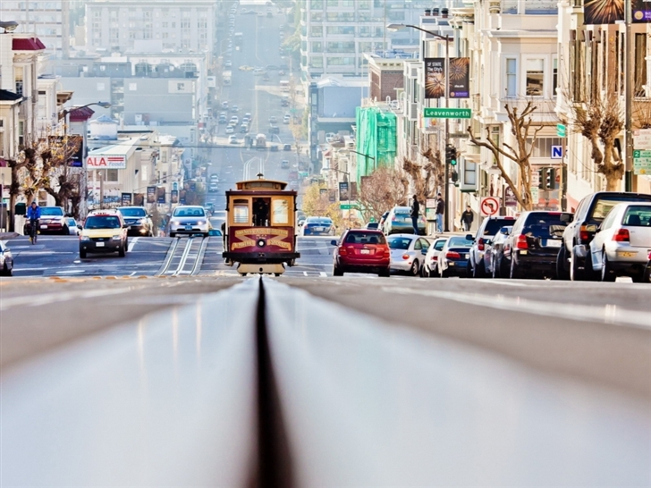Lombard Street San Francisco Mac Wallpaper
