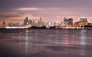 Chicago Skyline Mac wallpaper