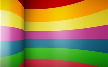 Rainbow fest Mac wallpaper