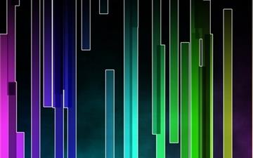 Colored Stripes Mac wallpaper