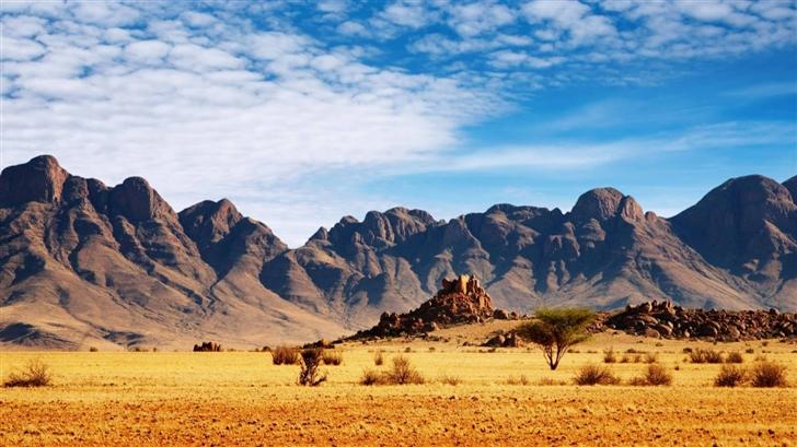 Desert Mountains Mac Wallpaper