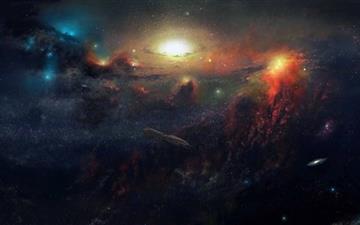 The Galaxy 727 0 Mac Wallpaper