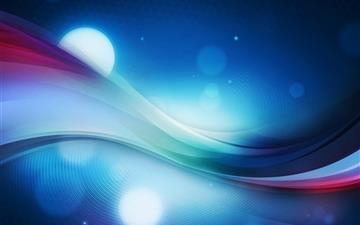 Color wave Mac wallpaper