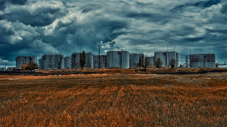 Armenia Gyumri Tank Farm Mac Wallpaper