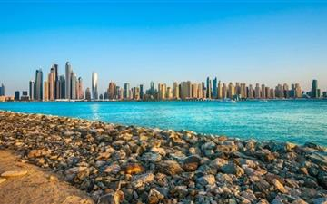 United Arab Emirates Skyscraper Mac wallpaper