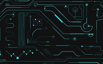 Circuit Board Mac wallpaper