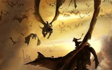 Dragons Lair Mac wallpaper
