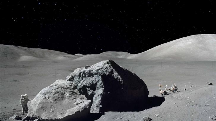 Moon Mission Mac Wallpaper