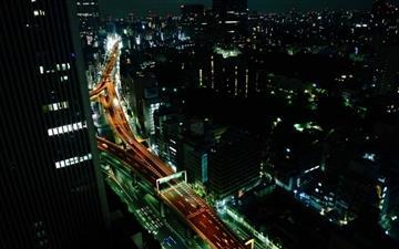 Tokyo View Mac wallpaper