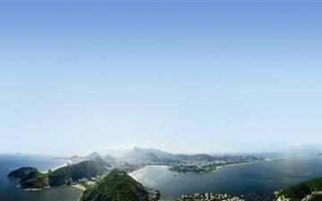 View Of Rio De Janeiro Brazil Mac wallpaper
