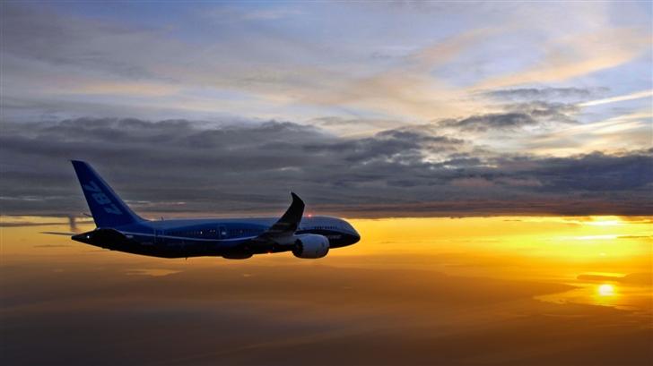 Flying Airplane Mac Wallpaper