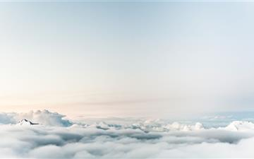 Mountain Above The Clouds Mac wallpaper