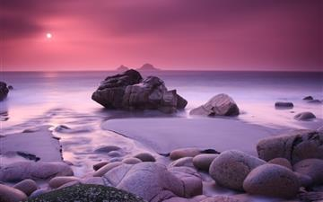 Pink Haze and Stones All Mac wallpaper