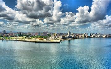 City Waterfront Mac wallpaper