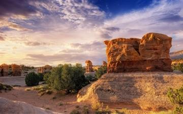 Desert Rocks Mac wallpaper