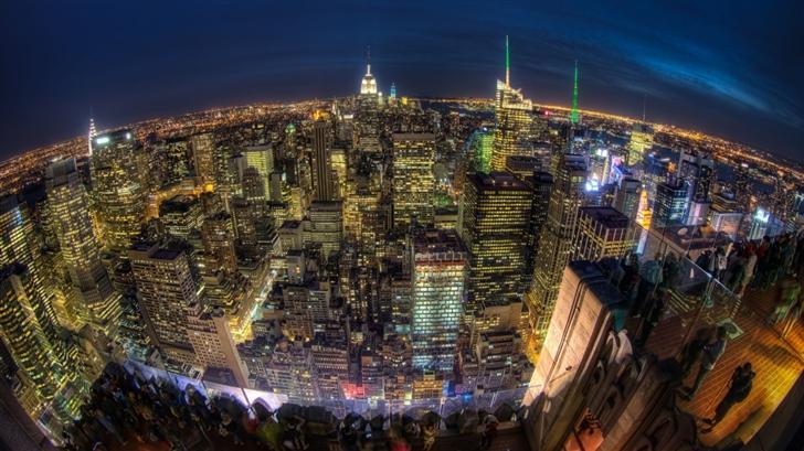 Eye Over New York Mac Wallpaper