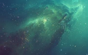 Galactic Nebula All Mac wallpaper