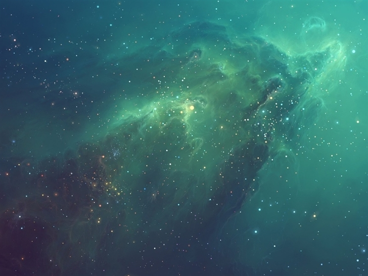 Galactic Nebula Mac Wallpaper