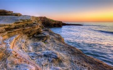 Rocks Of Sunset Cliffs Mac wallpaper