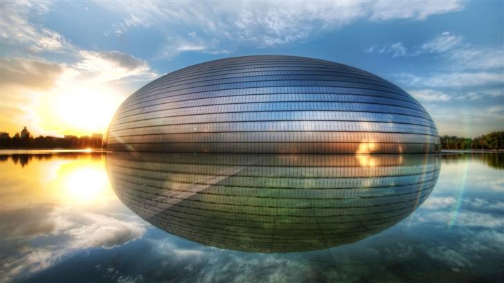 The Egg In Beijing Mac Wallpaper