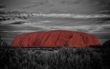 Ayers Rock Australia Mac wallpaper