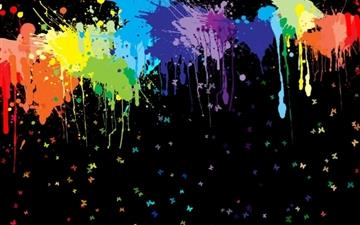 Color Splash Mac wallpaper