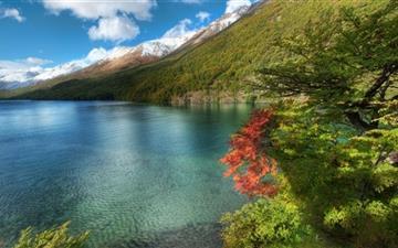 Lake In Argentina Mac wallpaper