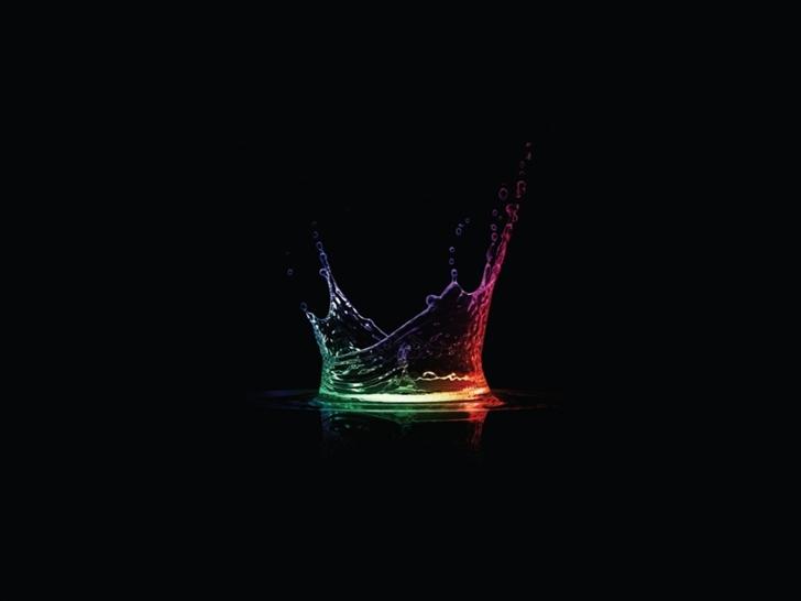 Colorful Splash Mac Wallpaper