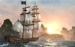 Assassins Creed Back Flag Ship