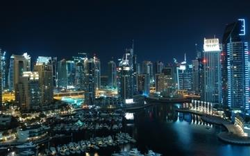 Amazing Dubai Marina All Mac wallpaper
