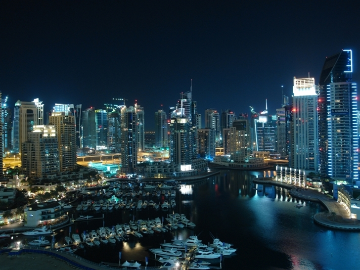 Amazing Dubai Marina Mac Wallpaper