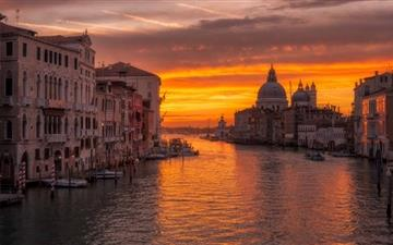 Venice Sunrise Mac wallpaper