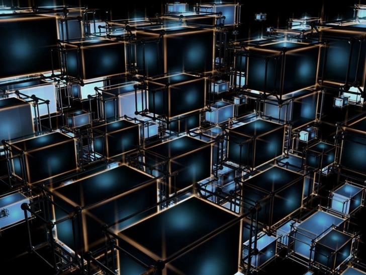 Cubes Mac Wallpaper
