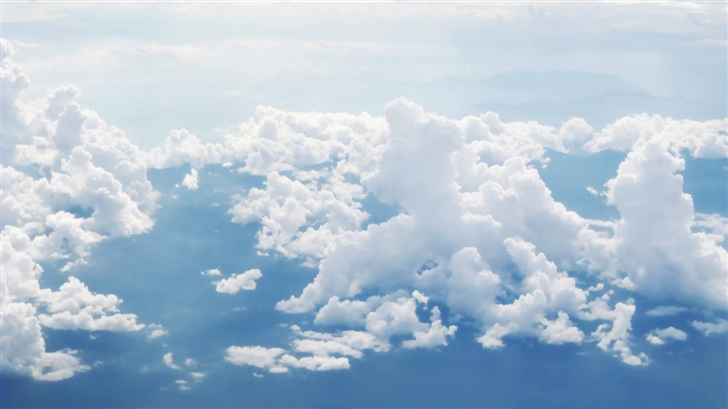 Sky And Clouds Aerial Photography Mac Wallpaper