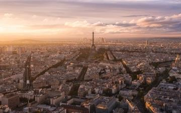 Paris Panoramic View All Mac wallpaper