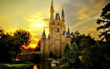 Cinderella Castle All Mac wallpaper