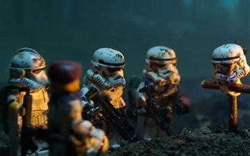 Star Wars Lego Soldiers Mac wallpaper
