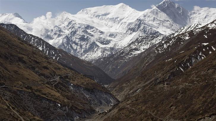 Annapurna Range Mac Wallpaper