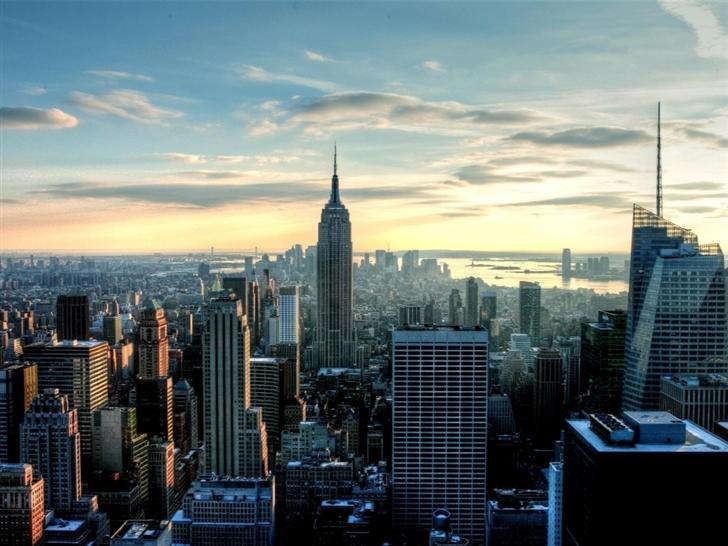 Empire State City Mac Wallpaper
