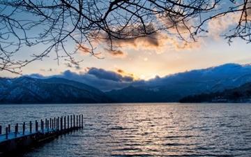 Lake At Nikko Japan Mac wallpaper