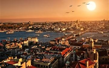 Istanbul City Mac wallpaper