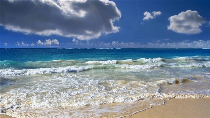 Blue Sea Mac Wallpaper