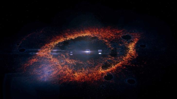 The Galaxy Eye Mac Wallpaper